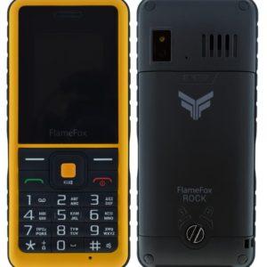 """Κινητό με πλήκτρα FlameFox Rock (Dual Sim) 1.77"""" IP67 με Κάμερα, Bluetooth, Φακό, Μπαταρία Li-Ion 1000mAh"""