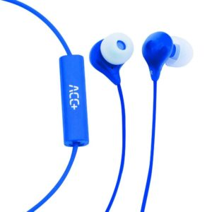 Ακουστικά Hands Free ACC+ Soul Stereo Earphones 3.5mm Μπλε με Μικρόφωνο και Πλήκτρο Απάντησης/Σίγασης