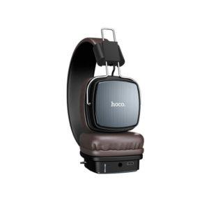 Wireless Ακουστικά Stereo Hoco W20 Gleeful Μαύρα με μικρόφωνο