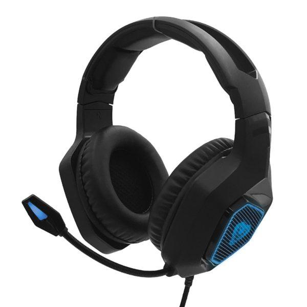Ακουστικά Gaming COBRA PRO YETI MT3599 3.5mm με Μικρόφωνο, Ρύθμιση Έντασης Ήχου και Ελαφρύ Φωτισμό Μαύρα