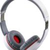 STEREO BLUETOOTH HEADPHONES V SOUND PRO VT900 WHITE-GREY-RED
