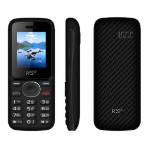 """ΚΙΝΗΤΟ ΜΕ ΠΛΗΚΤΡΑ NSP 1800DS 1.8"""" DUAL SIM 2G 32MB/32MB RADIO-MP3/MP4 + HANDS FREE GR Δείτε αναλυτικά χαρακτηριστικά"""